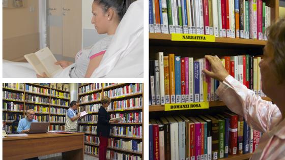 volontari biblioteca_ospedale circolo_circolo della bontà_prestito libri