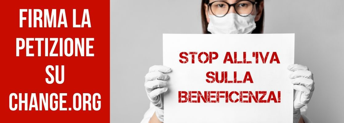 STOP ALL'IVA SULLA BENEFICENZA