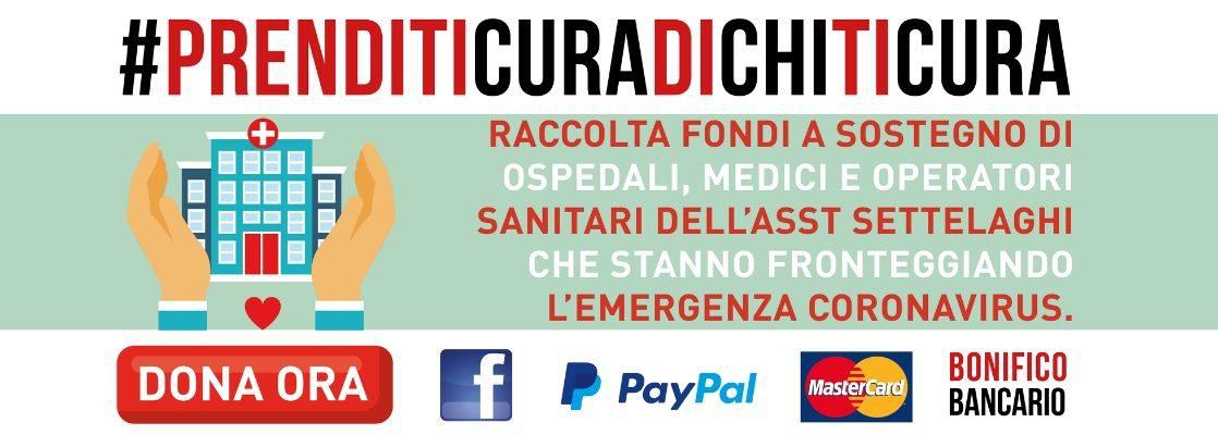 #PRENDITICURADICHITICURA: la Raccolta Fondi a sostegno dei nostri Ospedali