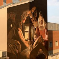 murales ravo varese_georges de la tour_san sebastiano_donazioni ospedale varese_circolo della bontà_asst settelaghi_curarti